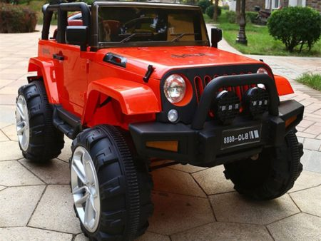 Детский электромобиль Jeep Wrangler 6688
