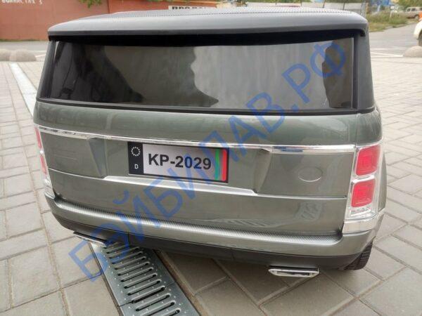 Детский электромобиль Land Rover - бэйбилав.рф