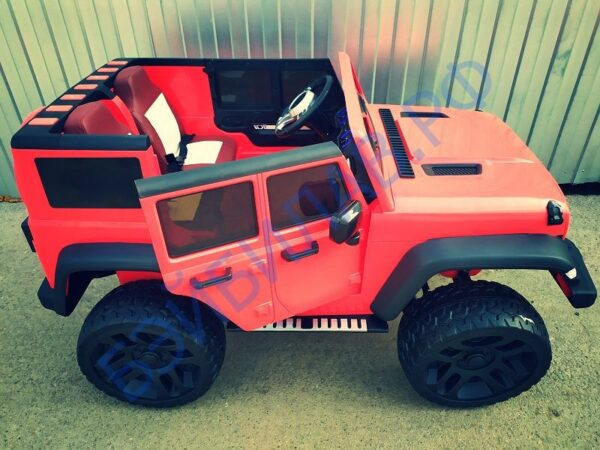 Детский электромобиль Джип Wrangler 2020