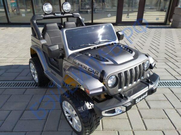 Детский электромобиль Jeep Rubikon - бэйбилав.рф