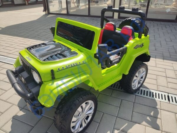Детский электромобиль Jeep Wrangler 5688 - Бэйбилав.рф